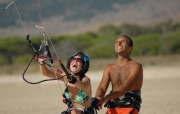 kite surfing spain